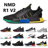 NMD R1 رجل الاحذية الترا دفعة الرجال النساء الثلاثي الأسود الأبيض ووكر ultraboost الرجال المدربين الرياضة أحذية رياضية