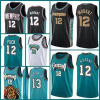 MemphisGrizzliesJersey 12 JA Morant Trikots Basketball 13 Jarden Jackson Jr. Mike 10 Bibby Kevin 7 Durant James 13 Härten Männer