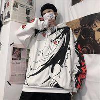 أنيمي ناروتو هوديس الشارع الشهير زوجين الشتاء معطف الأزياء فضفاض الكرتون sasuke اليابان هوديي البلوز للجنسين هوديي الرجال النسائية 2020