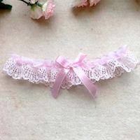 Düğün Seksi Kadınlar Kız Dantel Çiçek Ilmek Parti Gelin Lingerie Cosplay Bacak Jartiyer Kemer Askı 6 Renkler XHLS27