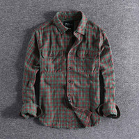 2020 Autumn New Ground Young Plaid Long- sleeved Foreign Trad...