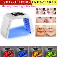 LM004 MOQ 1 шт. 4 Light LED Светодиодная маска для лица PDT Света для кожной терапии Машина красоты для омоложения кожи лица Салон красоты оборудование