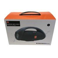 OEM Nice Sound Boombox Bluetooth Speaker Wress 3D HIFI Subwoofer Avvolgica per esterni portatile portatile Subwoofer stereo con scatola al minuto