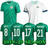 Northern Ireland Futebol Jerseys 19 20 Lafferty Euro 2020 Home Mens Kids Davis Magennis Futebol Camisa Evans McNair Boyce Jersey Irlanda