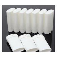 1000 adet 15g Plastik Boş DIY Oval Dudak Balsamı Tüpler Taşınabilir Deodorant Kaplar Temizle Beyaz Ruj Fashio Jllhgw Sinabag
