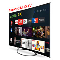 Multimédia 4K Android Smart TV 55inch Multifonctionnel Multifonctionnel Smart TV Multiple Signal Plein écran Direct Factory Prix le moins cher