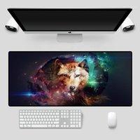 الألعاب ماوس الوسادة الحيوان الذئب نمط ماوس الوسادة الكمبيوتر دفتر مكتب لوحة المفاتيح الكمبيوتر الألعاب مكتب 1