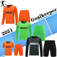 حارس المرمى Full 20 21 Int int Soccer Jerseys Mailleot Eriksen Lukaku Lautaro 2021 ميلا قميص كرة القدم الرجال أطقم Camiseta