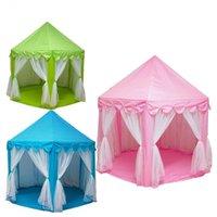 Jouer Maison Jeu Tente Tente Jouets Ball Pit Pool Portable Portable Princesse Pliante Tente Castle Cadeaux Tentes Tentes Tentes pour Enfants Fille