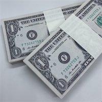 Dollar-Währungspapier-Währung-Spielzeug-Requisiten US-Caade-Kopie 10A-Markenwährung-Verkaufsfabrik Neue US-Papier Direkte Uukvm