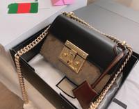 2021 Lederkupplung für Frauen Abendtaschen Mode Kette Geldbörse Lady Umhängetasche Handtasche Presbyopic Mini Packung Messenger Bag Karte
