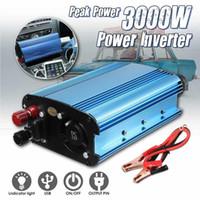 KRYAK 3000W DC 12 / 24/48V / 60 В до 220 В солнечный преобразователь энергии электропитания для дорожных поездок отдыха на открытом воздухе1