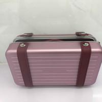 2020 nuove borse 2DRCA295YWT_H31E Donne da donna Borsa da donna Black and Personal frizione in alluminio e pelle di vitello a grana con scatola