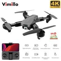 Drohnen Vimillo M20 RC DRONE 4K mit Kamera GPS-Hold HD 2.4G WiFi FPV Quadcopter Hubschrauber Folgen Sie einem Schlüssel Return Toys1