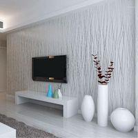 Großhandel-vliesmode dünne ströme vertikale streifen wallpaper für wohnzimmer sofa hintergrund wände hause tapete 3d grau silber1
