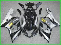 사용자 정의 회색 검정 AD05 페어링 키트 2004 년 2005 Suzuki GSXR 600 750 K4 GSXR600 GSXR750 04 05 GSX R750 페어링