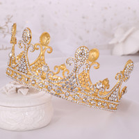 2021 beautiful Princess Headwear Chic Bridal Tiaras Accessories Stunning Crystals Pearls Wedding Tiaras And Crowns 12106