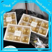 투명 젖빛 mooncake 케이크 팩 상자 디저트 마카롱 과자 포장 상자 EEC2466