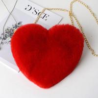 Moda feminina coração de forma falsa crossbody carteira bolsa bolsa bolsa de ombro senhora bolsa