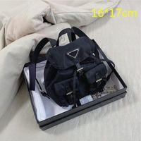 2021 Mini Frauen Rucksäcke Luxus Eimer Taschen Geldbörsen Designer Umhängetasche Crossbody Bags Telefonbeutel Multiple Farben mit Kasten (16 * 17 cm)