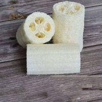 Natürlicher Luffah Luffa Bad liefert Umweltschutz Produkt saubere Peeling-Peel-Rutschen weiche LOOFAH-Handtuchbürste Pot-Wäsche 12 P2