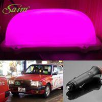 Mode DIY LED TAXI CAB Panneau TOPPER TOPPER TOPPER SUPER PURPLE VIOL PURPLE 3M pour chauffeurs de taxi