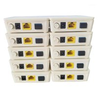 Equipamento de fibra óptica original 10 PCS ONU GPON EPON Hua Wei Ont Ftth Fibrahome Modem HG8310M HG8010H 1ge com Inglês Version1