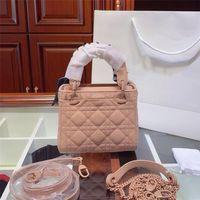 2022 Designer borse di lusso borse da donna Borsa a tracolla da donna in vera pelle con tessuto cuoio cross-body borse a sella di alta qualità hot 5a borse a croce