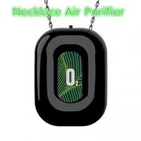 Mini Collier portable Purificateur d'air pour enfants adultes adultes ioniseur négatif voiture confidentage d'air personnel suspendu collier avec ion négatif