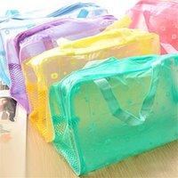 Kreative Home Outs Floral Reißverschluss Wasserdichte Kosmetiktasche mit NETS Toilettenartikel Taschen Bademantel Aufbewahrungstaschen