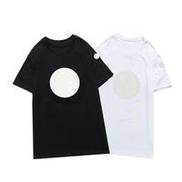 2021 New Luxur 자수 Tshirt 패션 패션 맞춤 남성과 여성 디자인 티셔츠 여성 Tshirts 고품질 흑인과 화이트 100 % cott
