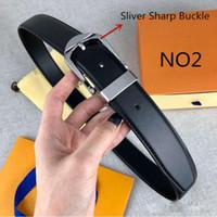 2020 mulheres de cinto de alta qualidade genuíno muitos cor opcional moda cinturão de couro para caixa de cinto de mens disponível