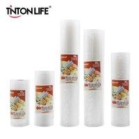 Tinton Life Aspium Sealer Bags Food Sealer Bags PVC Tenere il sacchetto di cibo fresco 12 * 500 cm 15 * 500cm 20 * 500 cm 25 * 500cm 28 * 500 cm FY7405-FY7406