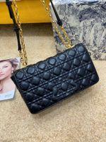الأزياء الأنيقة الفاخرة المرأة حقيبة سلسلة المعينية خروف نمط حقيبة يد تطوير أو حقيبة الكتف شريط قابل للتعديل