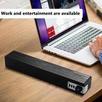 TV de madeira Soundbar SoundBar sem fio sem fio Bluetooth Stereo Subwoofer Coluna Music Center Home Theater PC Surround Boombox USB1