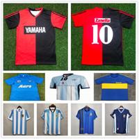 1993 newells # 10 maradona maglie da calcio vecchi ragazzi retrò vintage classico calcio camicia adulto bambini argentina napoli maglia maillot de piede