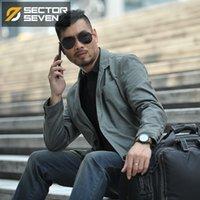 Sektör Yedi Yeni Su Geçirmez Askeri Stil Takım Elbise Ceket Erkek Taktik Blazers Erkekler Ceket Slim Fit Kargo Cep Tasarımı Y201026