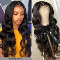 Yyong 30 32 pulgadas 13x6 13x4 Frente de encaje Pelucas para el cabello humano para las mujeres negras Remy Malasian Body Wave 4x4 Cierre Peluca Peluca baja