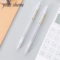 Penas esferográficas Youe Youe Shone 1 Pcs Simples Automático Lápis Estudante Transparente Escrita Constante Atividade Papelaria Para Crianças1