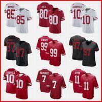 Mens 7 Colin Kaepernick 85 Kite Jimmy 16 Montana 31 Mostert Deebo 97 Bosa Jerry 80 Jerry Rice 10 Garoppolo Nick Football Jerseys