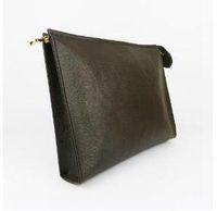 Nuovo tacchino da viaggio Sacchetto da 26 cm Protezione Trucco Frizione Donne Genuine Pelle Impermeabile 19 cm Designer Borse cosmetiche per le donne 583