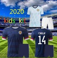 2020 İskoçya Futbol Formaları Ev Bobertson 2 Fraser 11 Armstrong 18 Burke 9 CCGregor 10 Forrest 7 20 20 Çocuklar Çocuk Jersey Futbol Gömlek