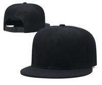2020 Moda Snapback Beyzbol Snapbacks Basketbol Yapış Sırt Şapkalar Bayan Erkek Boş Hip Hop Kapaklar Spor Şapkalar