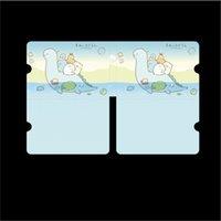마스크 클립 스토리지 클립 마스크 케이스 페이스 홀더 스트라이프 동물 만화 방수 습기 방지 휴대용 휴대용 고용량 0 450 F2