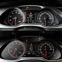 Araba-Styling Oto Koruma Kapakları Aksesuarları Araba Dashboard Koruyucu Film 99 Audi A4L için Işık Verici