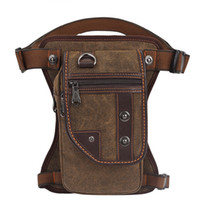 Male Outdoor Canvas Backpack For Hiking Fashion Men Mini Spo...