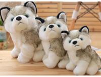 لطيف محاكاة الكلب أفخم لعبة الكلب كلب الأسكيمو دمية لينة ومريحة هدية وسادة طفل على حد سواء فتى وفتاة