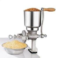 Ручная кукурузная шлифовальная машина чугуна зерна зерна ручной работы домашний коммерческий пищевой пшеница ручной ручной ручной зерна железный орех мельницы американские