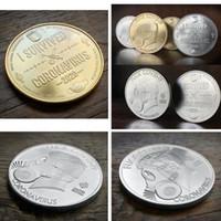 Vendita calda, sono sopravvissuto 2020 Silver Commemoratives Copia monete regalo per gli amici collezionisti di famiglia