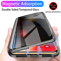 Magnetic Privacy Glass Case for Samsung Galaxy S8 S9 S10 Plu...